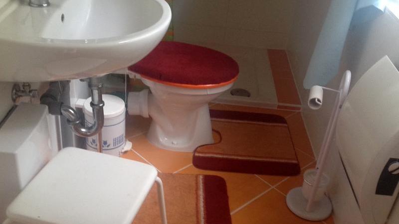 Die Bäder sind mit WC und Dusche ausgestattet