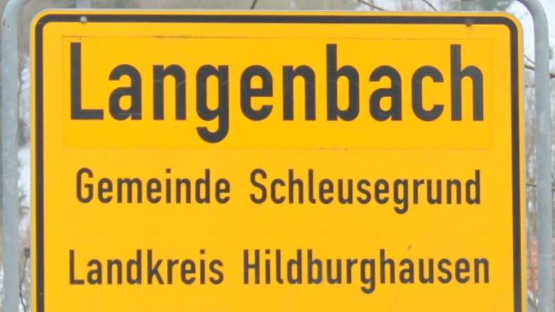 Langenbach in Schleusegrund