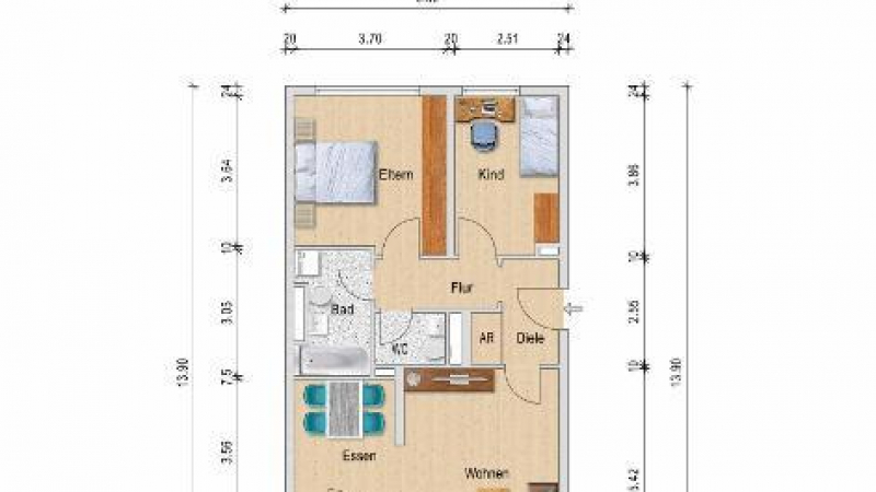 12_nachhause-immobilien_6f2947a3b0181b8283a1b52ff4a1984029ec1e26 KleinStadtFlair ... Kapitalanlage mit 3,5 Zimmern in traumhafter Seelage