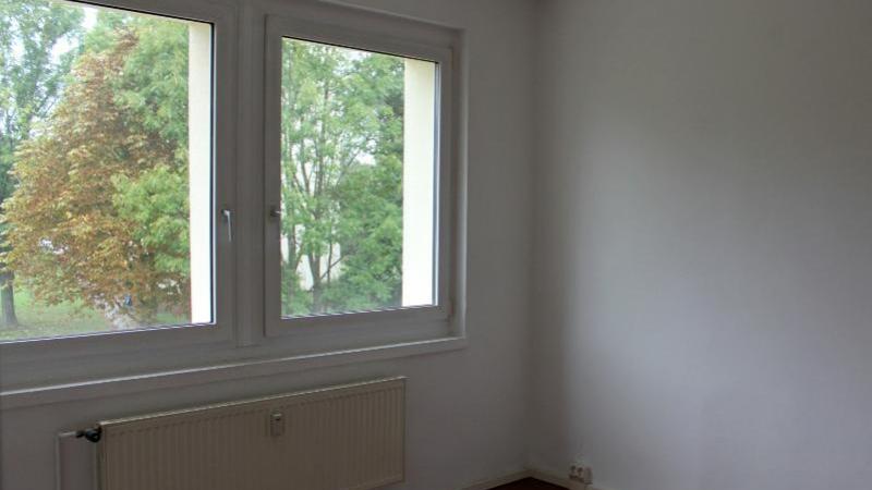 ... und bieten einen Blick in den begrünten Innenhof.