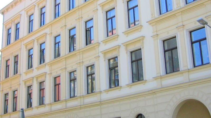 im Leipziger Zentrum mit einer Gesamtfläche von ca. 43 m².
