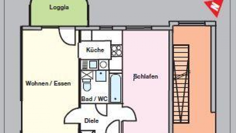 15_nachhause-immobilien_5467daa3f9863514404ccf004f3fb70dd576a2ea Mit Blick ins Grüne ... Hübsche Wohnung mit Stellplatz in der Sportstadt am See