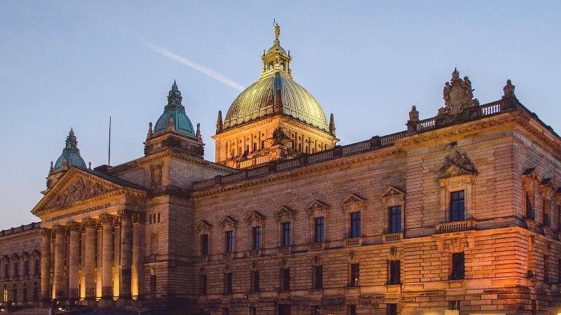Das Bundesverwaltungsgericht, oberstes Gericht der Bundesrepublik Deutschland,