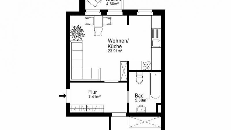 12_nachhause-immobilien_5707a6dcb032432a2f4c5e3b7d401f5110b89085 Provisionsfrei ... Hübsche Eigentumswohnung mit Balkon für Eigennutzer oder Kapitalanleger