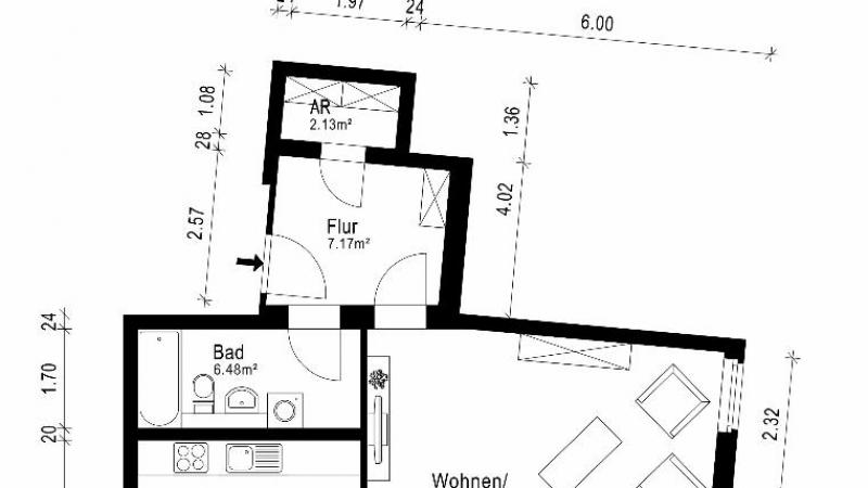 02_nachhause-immobilien_8e017b554f0e8684ca037f17cf5e286d052f6603 Für Eigennutzer ideal ... Singlebude zum Sofortbezug