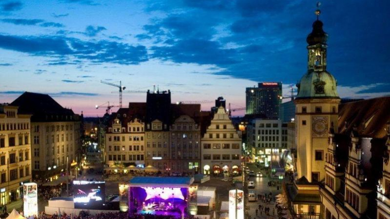 Nur 25 km entfernt liegt die Leipziger City,